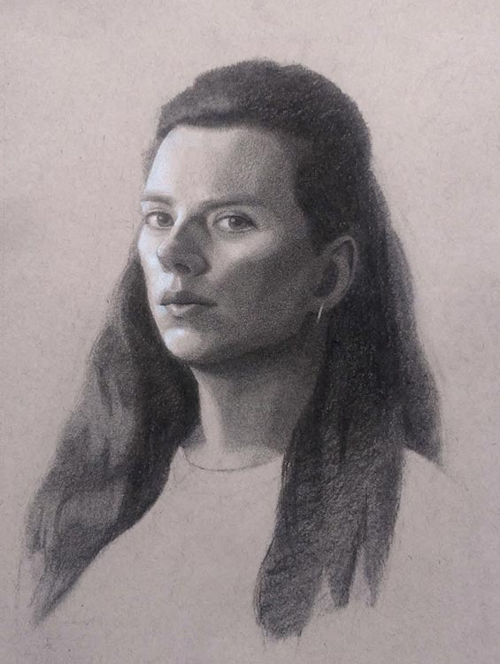 drawing selfie courtney clinton #TBT