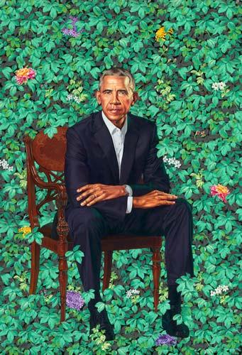 barack obama kehinde wiley portrait