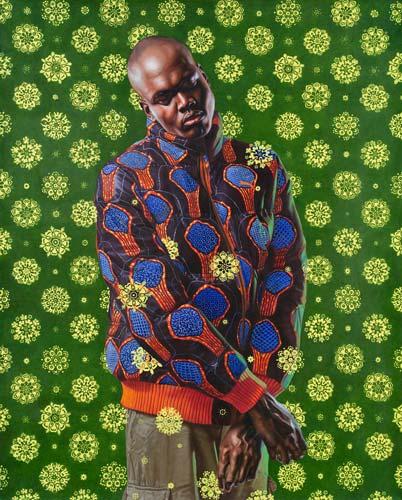ecce homo kehinde wiley portrait